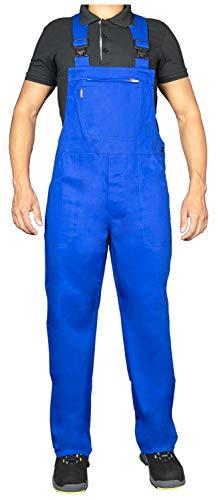 Uvex Eco 126 Herren-Arbeitshose - Blaue Männer-Latzhose 50