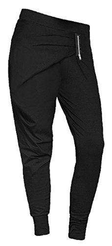 FeelJ! Damen Pants Hit, Black, One Size, FJ5902349672182