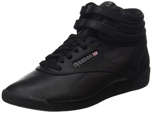 Reebok Damen Freestyle Hi High-Top, Schwarz (Black), 38.5 EU