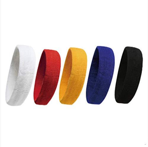 asdf Sport Haarband Männer Und Frauen Sport Stirnband Anti-Saugschweißband Haarreifen Kopftuch Mit Yoga-Schweißausrüstung