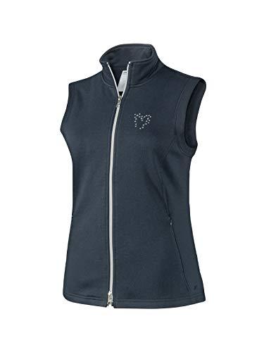 Joy Sportswear Karlotta Sportweste für Damen mit ärmellosem Schnitt für Running, Fitness und Freizeit, gefertigt aus Baumwolle und Polyester 44, Night