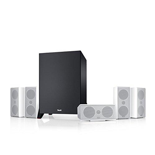 Teufel Consono 35 Mk3 5.1-Set Weiß Heimkino Lautsprecher 5.1 Soundanlage Kino Raumklang Surround Subwoofer Movie High-End HiFi Speaker