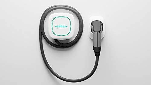 Wallbox Pulsar Ladesystem für Elektroautos Ladeleistung bis zu 22kw, Stecker- Typ 2, Kabellänge 5 Meter