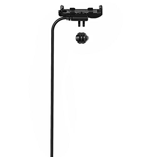 Garmin-Halterung VIRB 360 mit Stromanschluss, schwarz.