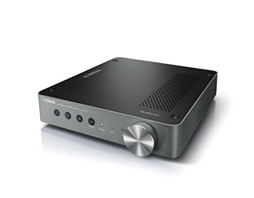 Yamaha MusicCast WXA-50 HiFi-Verstärker dunkel silber – Hochwertige, kompakte Endstufe für die Heimkinoanlage - kompatibel mit Alexa Sprachsteuerung – 250 W ICEpower
