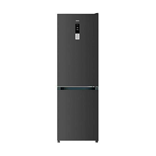CHiQ Freistehender Kühlschrank mit Gefrierfach 317L | Kühl-Gefrierkombination No frost mit Inverter Technologie| 185 x 59,5 x 64,2 cm (HxBxT) | Ultraleise 41 db | 244 kWh/Jahr