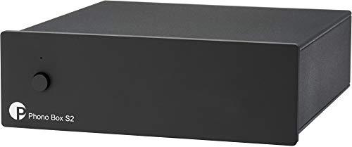 """Pro-Ject Phono Box S2, """"Best Buy"""" MM/MC Phono Vorverstärker (Schwarz)"""