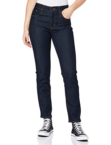 Levi's Damen 724 High Rise Straight Jeans, to The Nine, 29W / 30L