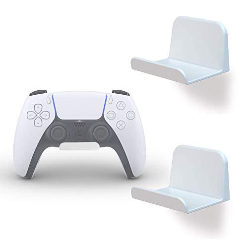 sciuU Wandhalterung für Kopfhörer / Controller, [2 Stück] Halter, Selbstklebende 3M Kleiderbügel (inbegriffen), Universal Hook Zubehör für Gamepad auf XBox / PS5 / PS4 / Nintendo, ohne Schrauben