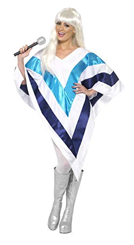 Smiffys SM33568-ALT Damen Super Trooper Kostüm, Poncho, One Size, 33568