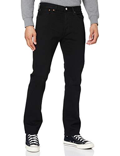Levi's Herren 501 Original Jeans, Schwarz (Black 80701), 38W / 32L