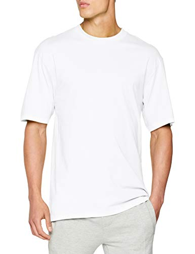 Urban Classics Herren T-Shirt Tall Tee, Farbe white, Größe M