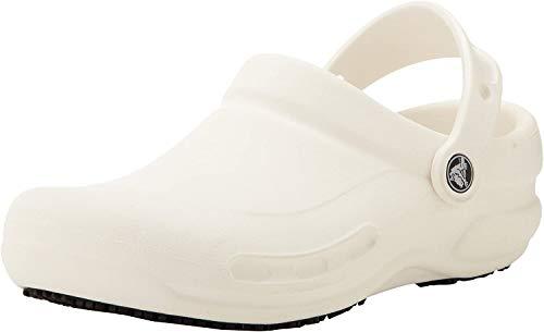 Crocs Bistro, Unisex - Erwachsene Clogs, Weiß  (White), 41/42 EU