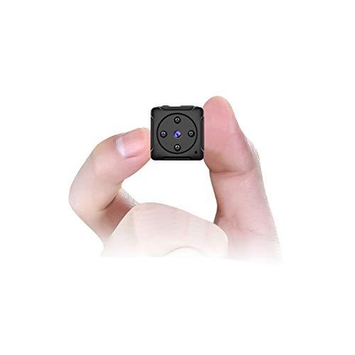 Mini Kamera, MHDYT HD 1080P Super Kleine Nanny Cam,Tragbare Mikro Überwachungskamera mit Bewegungsmelder und Infrarot Nachtsicht, Compact Akku Kameras für Innen und Aussen