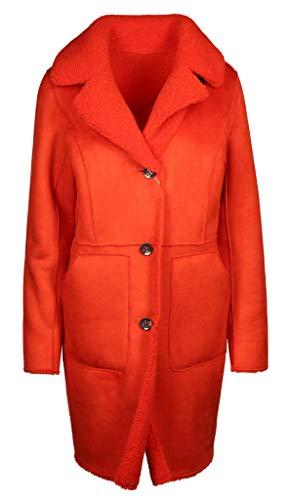 Beaumont Amsterdam Damen Wendemantel Größe 38 EU Orange (orange)
