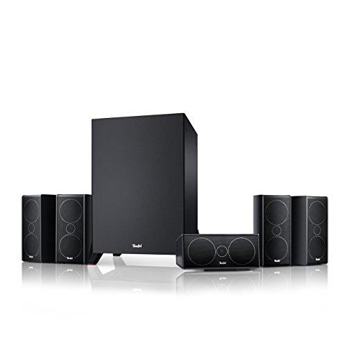 Teufel Consono 35 Mk3 5.1-Set Schwarz Heimkino Lautsprecher 5.1 Soundanlage Kino Raumklang Surround Subwoofer Movie High-End HiFi Speaker