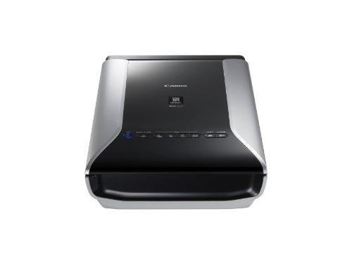 Canon CanoScan 9000F Mark II Film Negative Scanner (35 mm Film, 120 Format Film, 9,600 x 9,600 dpi, USB 2.0) schwarz
