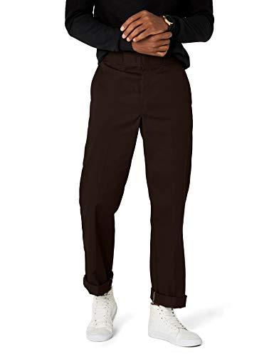 Dickies Herren Sporthose Streetwear Male Pants Original Work, Braun (Dark Brown DB), 32W / 34L