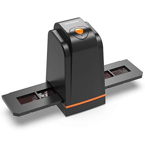 Hochauflösender 35mm Filmscanner konvertiert Negativ Dia & Film zu Digital Photo, Unterstützt Windows XP/Vista / 7/8/10/MAC