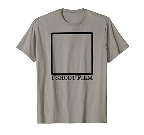 I SHOOT FILM 6x6 - Mittelformat Fotografen Nerd Analog Film T-Shirt