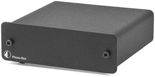 Pro Ject Phono Box Phono Vorverstärker Schwarz MM/MC