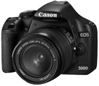 Canon EOS 500D SLR-Digitalkamera (15 MP, LiveView, HD-Video, inkl. 18-55mm IS Kit, bildstabilisiert)