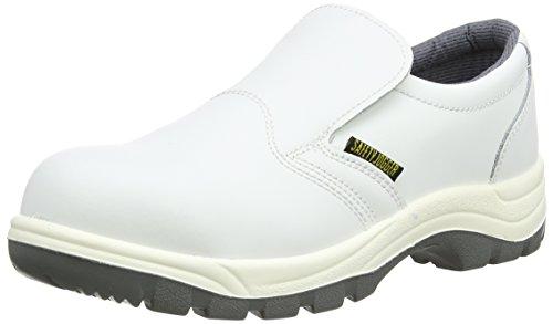 Safety Jogger Unisex-Erwachsene X0500, Arbeits & Sicherheitsschuhe, Weiß (White/L.Grey), 42 EU