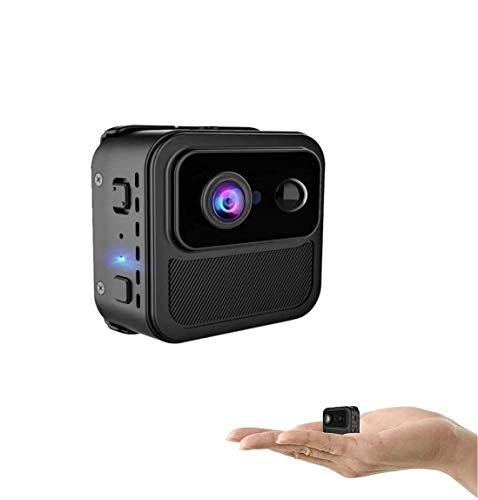 Mini Kamera Mini Überwachungskamera Heimüberwachungskamera 4K Ultra HD-Auflösung Video Nanny Kamera Nachtsicht PIR-Bewegungserkennungs WiFi Kamera