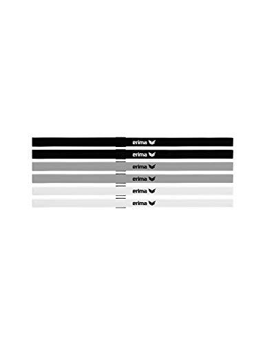 Erima Unisex Haarbänder 6er Set, Mehrfarbig,Einheitsgröße EU