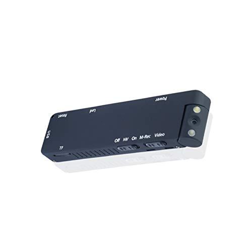 Mini-Digitalkamera, HD-Taschenlampe, Mikro-Kamera, magnetische Körperkamera, Bewegungserkennung, Schnappschuss, Loop-Aufnahme, Camcorder, ohne TF-Karte, Farbe: