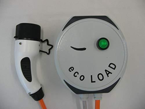 ecoLOAD Elektroauto Ladestation Wallbox 11 kW Ladekabel Typ2 5m Alu-Gehäuse KfW-Förderung Testqualitätsurteil Zuverlässigkeit SEHR GUT