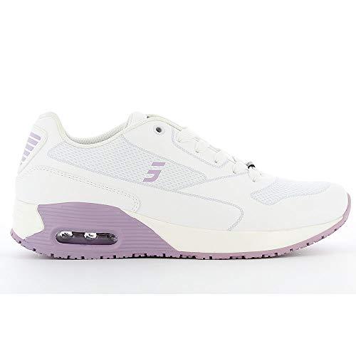 Oxypas Damen Ela SCR, Sportschuhe, Arbeitsschuhe, Sneaker (ElaS4101lic), Lila, 41 EU