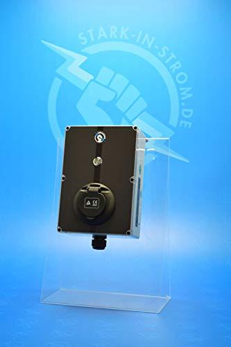 Wallbox 22 kw - CHARG-E-PLUG Start (5,0 Meter Zuleitung inkl. 32A CEE Stecker)
