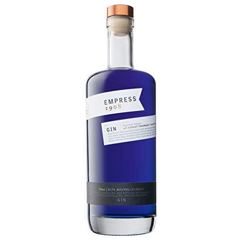 Empress 1908 Gin - Premium Modern Dry Gin - In kleinen Mengen destilliert - Natürlich - Made in Canada (70cl)