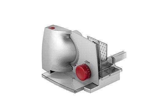 ritter 518.000 compact 1 rot, elektrischer Allesschneider mit ECO-Motor, made in Germany, Metall
