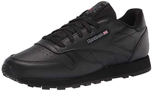 Reebok Damen Classic Leather Sneakers, Schwarz, 40 EU