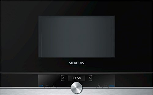 Siemens BF634RGS1 iQ700 Mikrowelle / 900 W / 21 L Garraum / Edelstahl / LED-Innenbeleuchtung