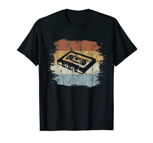 Retro Style Oldschool Tape Kassette Vintage Mixtape T-Shirt