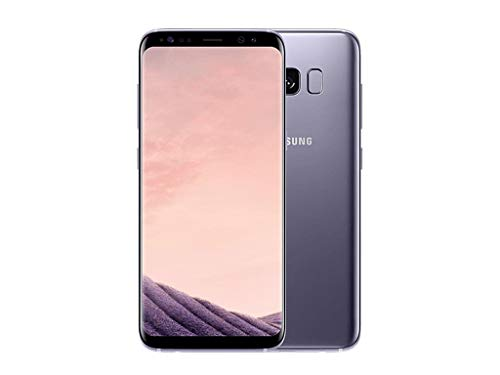 Samsung Galaxy S8+ Smartphone (6,2 Zoll (15,8 cm) Touch-Display, 64GB interner Speicher, Android OS) orchid grey(Generalüberholt)