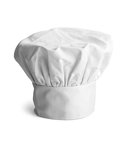 Joeji's Kitchen 3 Kochmütze Herren Stück Poly Baumwolle Kochmütze Kochhaube verstellbar elastische, Erwachsenen Chef Hüte Chef Cap