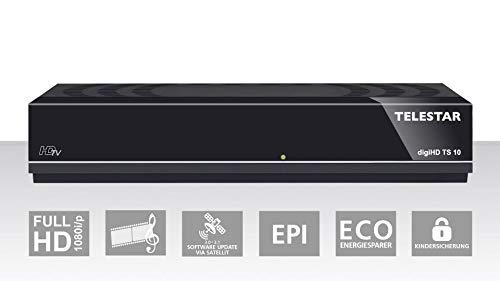 Telestar digiHD TS 10 HDTV-Satelliten Receiver (DVB-S, DVB-S2, HDMI, Scart, USB) schwarz