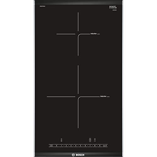 Bosch PIB375FB1E Serie 6 Domino-Induktionskochfeld / 30 cm / Schwarz / ComfortProfil / DirectSelect / 17 Leistungsstufen / PowerBoost / 2 Kochzonen mit Topferkennung / ReStart / QuickStart