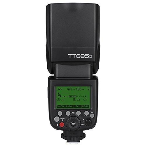 Godox TT685O TTL Flash Camera Flash Speedlite, 2.4G HSS 1/8000s TTL GN60 Elektronisches Blitzgerät für Olympus E-M10II E-M5II E-M1 E-PL8 E-PL6 E-PL6 E-PL5 E-P5 E-P5 E-P3 für Panasonic GH4 G7