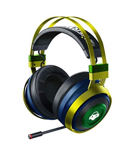 Razer Nari Ultimate Wireless 7.1 Surround Sound Gaming Headset: THX Audio & Haptic Feedback - Auto-Adjust Headband - Chroma RGB - Retractabl