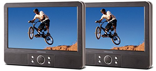 MEDION MD 84484DVD Player 9Zoll 800x 480 Pixel, Wandmontage, schwarz–Tragbarer DVD/Blu-Ray-Player (22,9cm (9 Zoll), 800x 480Pixel, TFT Display, 22,86cm, 4:3, 16:9, 800x 480(WVGA))