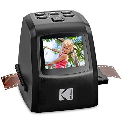 KODAK Mini digitaler Film- und Diascanner – konvertiert Filmnegative und Dias von 35 mm, 126, 110, Super-8 und 8 mm in JPEG-Bilder mit 22 Megapixeln – 3,5 Zoll-LCD-Anzeige inkl, RODFD20