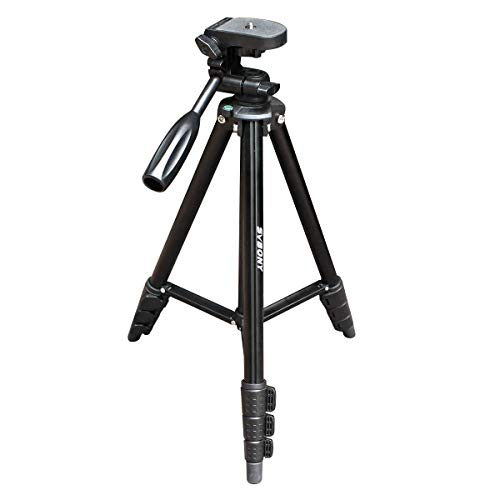 Svbony SV101 Kamera Stativ 138cm Spektiv StativAluminum Reisestativ Fotostativ Kompakt Leichtes Stativ für Kamera Spektiv Kompatibel mit SV13 SV28 SV41