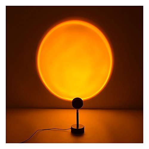 Projektionslampe Sunset Regenbogen Sonne Sonnenuntergang Rot USB LED Projektor Lampe Licht, Projektor Lichter 90 ° Drehung Romantische Visuelle Stimmungslampe Beleuchtung Schlafzimmer Deko (#02)