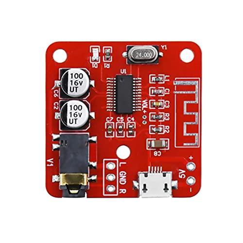 Wnuanjun 1 stück Bluetooth Audio Receiver Board Verlustlose Bluetooth 4.2 Wireless MP3 Decodierkarten DIY Modifizierter drahtloser Lautsprecher