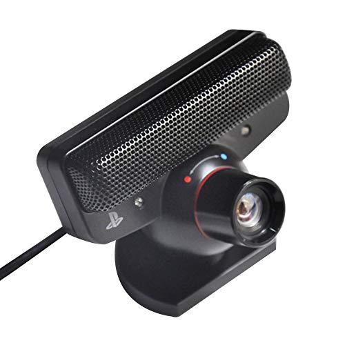 Almabner Webcam 120fps USB 2.0 FOV Zoom Objektiv Bewegungssensor Kamera Sprachbefehle mit Mikrofon Webkamera für Live Class Konferenz Gaming